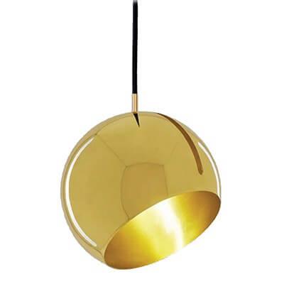 גוף תאורה תלוי E27 PRESTIGE זהב מאט