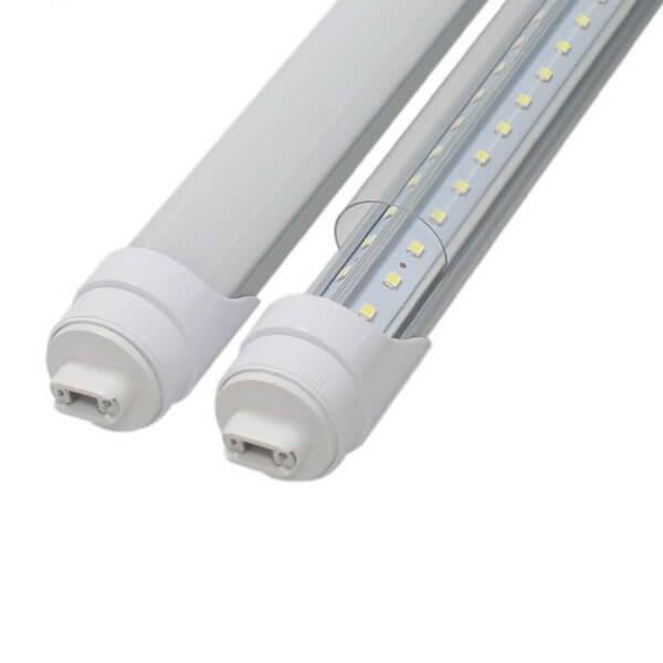 """פלורסנט LED T8 פלסטיק+אלומיניום 60W ס""""מ 240"""