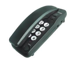 טלפון דקורטיבי שולחני שחור 1200B